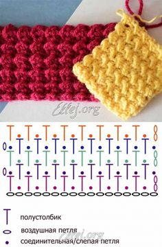 Watch This Video Beauteous Finished Make Crochet Look Like Knitting (the Waistcoat Stitch) Ideas. Amazing Make Crochet Look Like Knitting (the Waistcoat Stitch) Ideas. Crochet Symbols, Crochet Motifs, Crochet Diagram, Crochet Stitches Patterns, Tunisian Crochet, Crochet Chart, Diy Crochet, Crochet Designs, Knitting Patterns