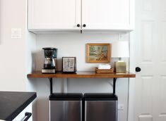 Kitchen Progress: Butcher Block Shelf – Project Palermo Ikea Corner Desk, Ikea Cart, Kitchen Cart, Palermo, Shelf, Cabinet, Table, Furniture, Home Decor