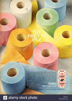 Andrex Toilet Paper came in all these colours in I remember it was hard to find Pink in Woolworths Double Roll. My Childhood Memories, Sweet Memories, Colored Toilets, Vintage Ads, Retro Ads, Ol Days, My Memory, Best Day Ever, The Good Old Days