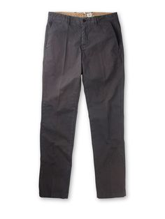 Four Pocket Cotton Chino Trousers in Grey