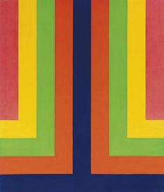 Howard Mehring _Chroma Double (1965)