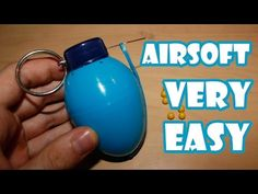 How to make a Airsoft Grenade with a Surprise Egg - YouTube