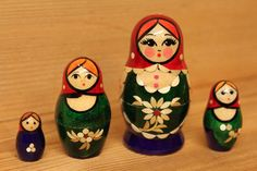 little matryoshka babushkas. :)