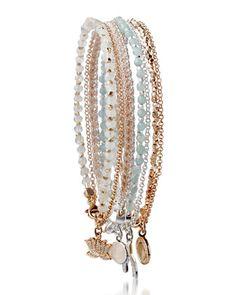 Assorted Friendship Bracelets by Astley Clarke