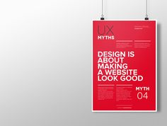 Myth 4: Design is about making a website look good