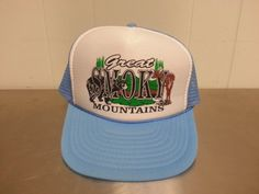 Vintage 1980's Great Smoky Mountains Trucker by CoolVintageStudio