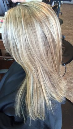 blonde highlights by Liz@Elements