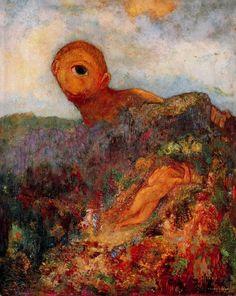 Odilon Redon (French: 1840–1916), [Post-impressionism, Symbolism]