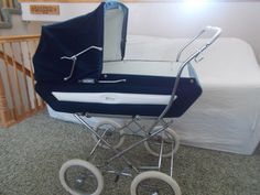 Vintage Antique Perego Baby Carriage Stroller Pram Combination Made in Italy | eBay