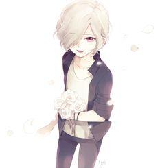 Diabolik Lovers (More Blood)- little Subaru Cute Anime Character, Cute Characters, Anime Characters, Hot Anime Boy, Anime Guys, Subaru Sakamaki, Diabolik Lovers Laito, Ayato, Tsundere