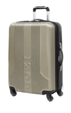IZOD Luggage Voyager 2.0 20 Inch Expandable Spinner Carry-On Bag ...