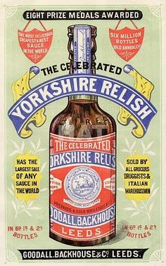 Vintage+advertising+poster+for+Goodall,+Backhouse+&+Co.+Leeds,+The+Celebrated+Yorkshire+Relish,+from+c1885.