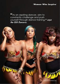 Ceo Dancers Afrobeat