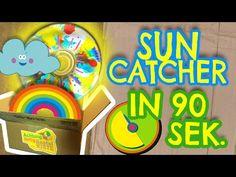 Suncatcher in 90 Sekunden basteln - Achtung, fertig, Bastelkiste 8 - YouTube