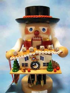 Steinbach Blackforest Clock Maker Nutcracker ** This is an Amazon Affiliate link. You can get additional details at the image link.