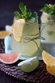 Citrus Paloma | A slightly different take on the traditional, this Citrus Paloma showcases orange simple syrup, freshly squeezed citrus, and a healthy dose of tequila to create this zesty explosion of a cocktail. @Mind Over Batter