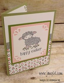 I wanted to share this sweet Easter card I made using the Easter Lamb stamp set. I think the tulip paper in the English Garden Designer Seri. Garden Ideas Diy Cheap, Easter Lamb, Animal Cards, Mothers Day Cards, Stamping Up, Stampin Up Cards, Happy Easter, Cardmaking, Holiday Cards