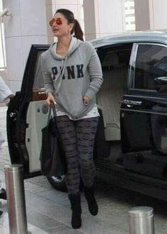 Kareena kapoor Dressy Casual Outfits, Basic Outfits, Sporty Outfits, Western Outfits, Western Wear, Indian Outfits, Bollywood Actors, Bollywood Fashion, Kareena Kapoor Pics