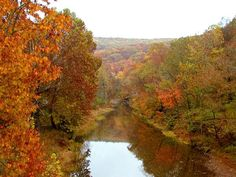 Arkansas in the fall