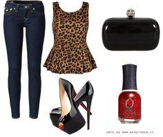 leopard clothes combine