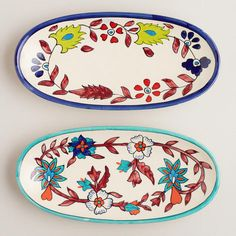 One of my favorite discoveries at WorldMarket.com: Hand-Painted Tray