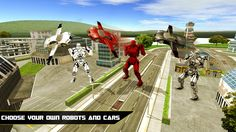 Flying Robot Car Simulator- screenshot