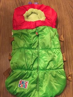 Eric Carle Hungry Catepillar 2-in-1 Stroller Infant Carrier Bunting #EricCarle