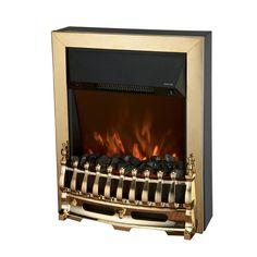 Connect-It 2000W Fire-Effect Fan Heater