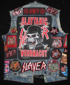 Slayer jacket back