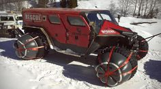 The baddest off-road rescue vehicle on the planet.