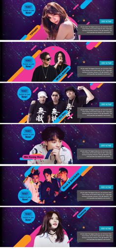 Kpop festival on Behance