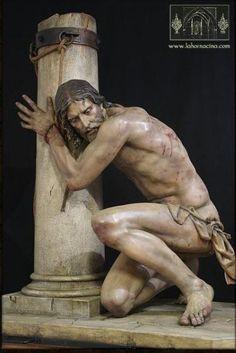 Christ à la Colonne, par Francisco Romero Zafra