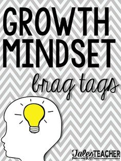 Grab these Growth Mindset brag tags! They'll be sure to light up your classroom and your students' outlook for the school year.
