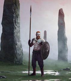 ArtStation - Guardian of Menhirs, Jarosław Marcinek