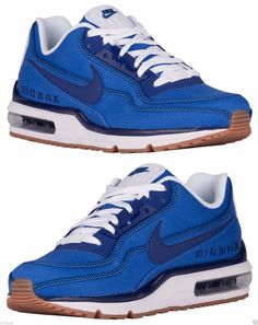 Nike Air Max 1 VNTG Blue Leather blue Schuhe Sneaker shoe Gr
