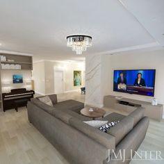 spiek na ścianie, marmur w salonie, biblioteka Flat Screen, Flooring, Interior, Living Room, Blood Plasma, Indoor, Flatscreen, Wood Flooring, Interiors