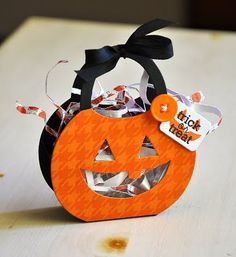 Hello all! Welcome to Day 2 of the Papertrey Ink Countdown and this months first Papertrey Ink Design Team group post. In preparation for. Halloween Favors, Halloween Candy, Cute Halloween, Holidays Halloween, Halloween Decorations, Halloween Goodies, Halloween 2015, Halloween Costumes, Fall Paper Crafts