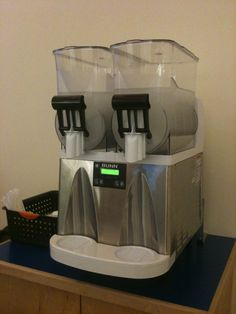 Wow! - The famous slushy machine.