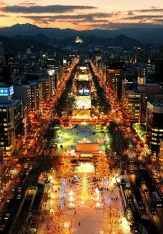 Sapporo, Japan さっぽろ雪まつり snow festival