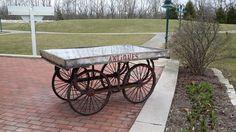 Antique Cart - Flea and Farm Mercantile Vintage Wedding Rentals