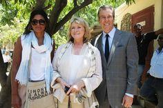 Rachel Roy, Martha Stewart and Terry Lundgren in Haiti #RachelRoy