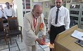 Dr Kasim Chimthanawala Inaugurating the school by lighting the traditional lamp Traditional Lamps, National Academy, Homeopathy, India, Lighting, School, Winter, Pictures, Photos