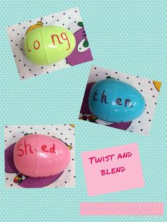 Twist and blend eggs Guided Reading Activities, Phonics Activities, Easter Activities, Spring Activities, Language Activities, Writing Activities, Literacy Display, Foundation Maths, Maths Eyfs