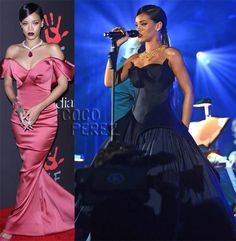 Rihanna Rocks Two GORGEOUS Gowns To Her Diamond Ball! Has She Ever Looked More Glamorous?!