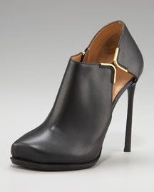Crazy for Lanvin shoes right now. Most beautiful bootie ever.