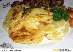 Gratinované brambory z Francie recept - TopRecepty.cz