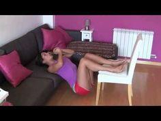 5 ejercicios para gluteos y piernas para mujeres en casa/ Legs workout a...