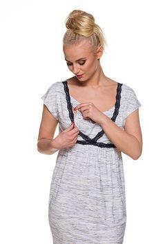 7fc9627cde35 Camicia premaman da notte Olivia 2 - Allattamento My Tummy