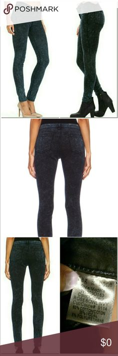 """{Rag & Bone} Rosebowl Jean Rag & Bone Super Stretch High Waist Jegging Jean.                                                             Details & Care Pliant stretch cotton sculpts a pair of super-svelte faded black skinnies styled with a vintage-sleek high-rise waist. 30"""" inseam; 10"""" leg opening; 11"""" front rise; 14"""" back rise (size 29). Zip fly with button closure. Faux front pockets; coin pocket; back patch pockets. 60% cotton, 35% modal, 5% polyurethane. Machine wash cold, dry flat. rag…"""