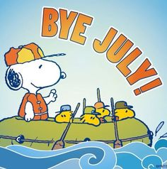 Bye July Snoopy